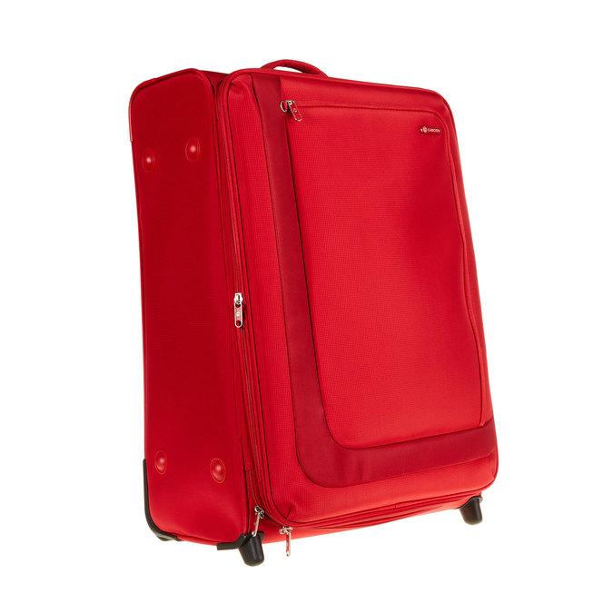 Kufr na kolečkách carlton, červená, 969-5147 - 13