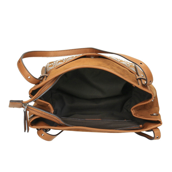 Dámská kabelka bata, hnědá, 969-4453 - 15