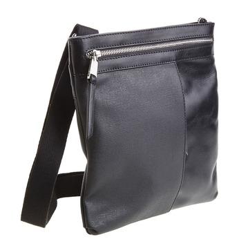 Kožená Crossbody taška bata, černá, 964-6184 - 13