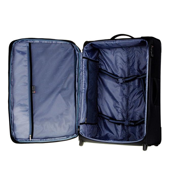 Kufr na kolečkách carlton, černá, 969-6147 - 15