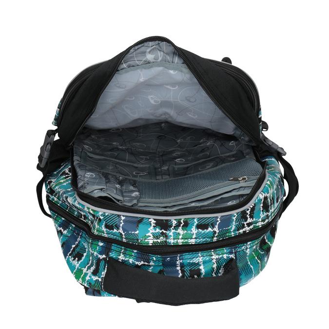 Dětský školní batoh bagmaster, modrá, zelená, 969-9602 - 19