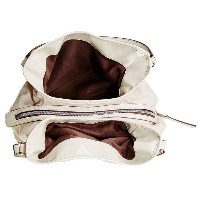 Dámská kabelka bata, béžová, 969-3280 - 15