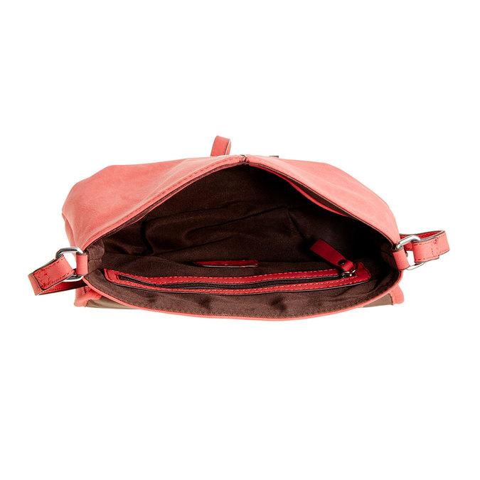 Crossbody kabelka se střapcem bata, červená, 961-5759 - 15