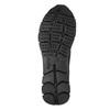 černé kožené tenisky geox, černá, 524-6030 - 26