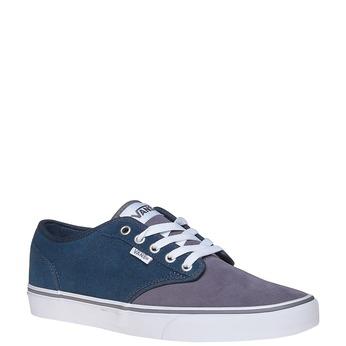 Kožené dětské tenisky vans, modrá, 403-9234 - 13