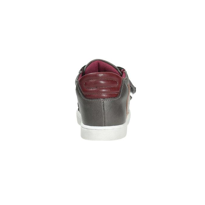 Dětské tenisky na suché zipy mini-b, šedá, 211-2152 - 17