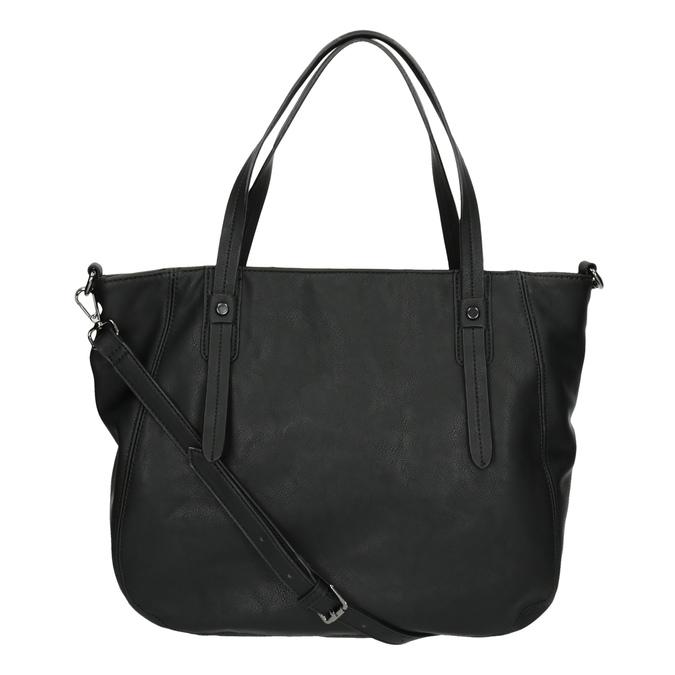 Dámská kabelka s kamínky bata, černá, 961-6247 - 26
