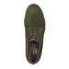 Pánské polobotky z broušené kůže rockport, zelená, 826-7007 - 19