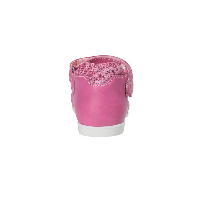 Dívčí střevíčky ke kotníkům bubblegummer, červená, 129-5148 - 17