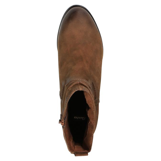 Dámská kotníčková obuv bata, hnědá, 796-4600 - 19