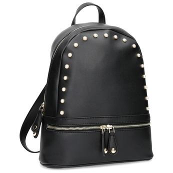 Černá dámská kabelka do ruky bata, černá, 961-6606 - 13