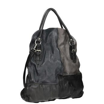 Kožená dámská kabelka s pevnými uchy a-s-98, 966-0002 - 13