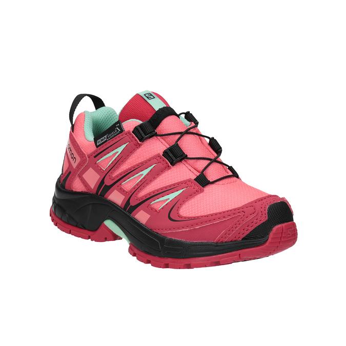 Dětská obuv v Outdoor stylu salomon, růžová, 299-5005 - 13