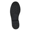 Dětská kotníčková obuv s pružným bokem mini-b, černá, 321-9602 - 26