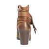 Kožené kotníčkové kozačky ve Western stylu bata, hnědá, 696-4610 - 17