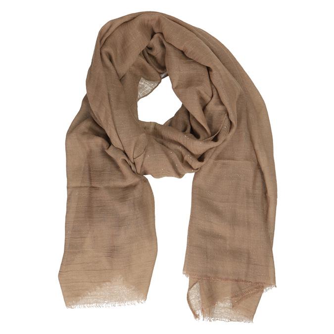 Šátek s jemnými třpytkami bata, hnědá, 909-3198 - 13