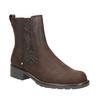 Dámské kožené Chelsea Boots clarks, hnědá, 696-4004 - 13