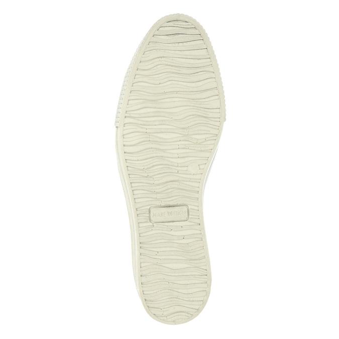 Kožené Slip-on na široké podešvi bata, hnědá, 526-4605 - 26