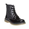 Dětská kotníčková obuv se třpytkami mini-b, černá, 399-6253 - 13