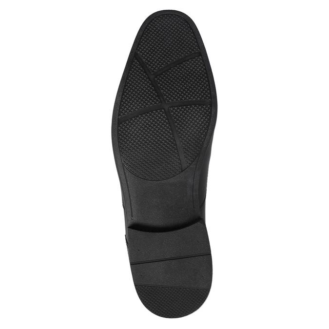 Pánské kožené polobotky rockport, černá, 824-6029 - 26