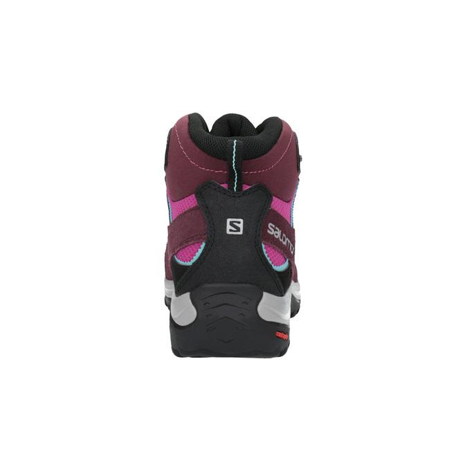 Dámská kožená obuv v Outdoor stylu salomon, fialová, 643-5051 - 17