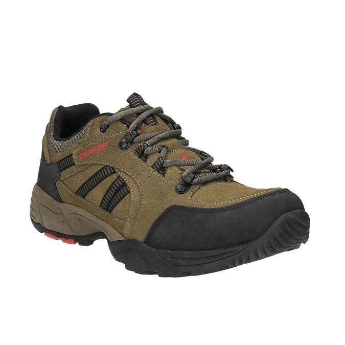 Kožená obuv v Outdoor stylu power, hnědá, 803-3109 - 13