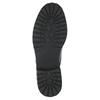 Lakované polobotky na výrazné podešvi bata, černá, 521-6600 - 26