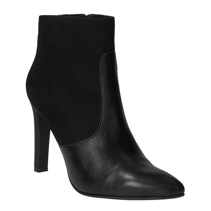 Dámská kotníčková obuv classico-and-bellezza, černá, 713-6006 - 13