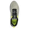 Pánské tenisky na výrazné podešvi bata, šedá, 841-2600 - 19
