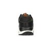 Pánské tenisky na výrazné podešvi bata, černá, 841-6604 - 17