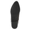 Kožená kotníčková obuv s pružením geox, červená, 514-5030 - 26