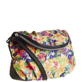 Crossbody kabelka s barevnými květy bata, 969-0426 - 13