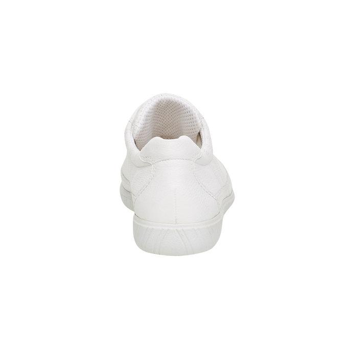 Bílé kožené tenisky gabor, bílá, 544-1102 - 17