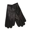 Kožené rukavice s vlněnou podšívkou junek, černá, 924-6029 - 13