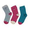 Dětské barevné ponožky 3 páry bata, 919-0495 - 26