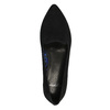 Dámské kožené baleríny vagabond, černá, 516-6002 - 19