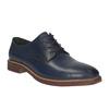 Ležérní kožené polobotky bata, modrá, 826-9644 - 13