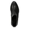 Dámská chelsea obuv se zdobením gabor, černá, 614-6110 - 19