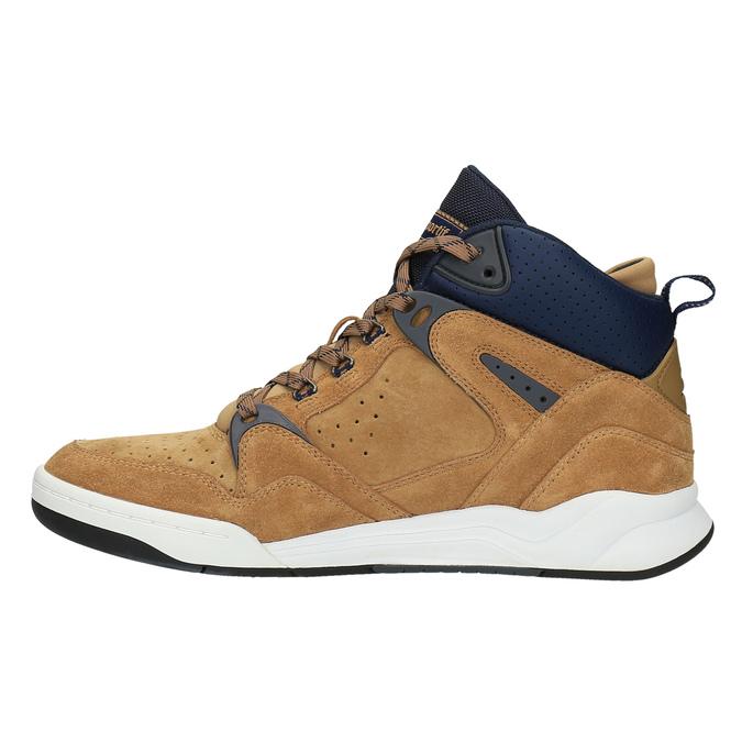 Pánská kotníčková obuv le-coq-sportif, hnědá, 803-3567 - 26