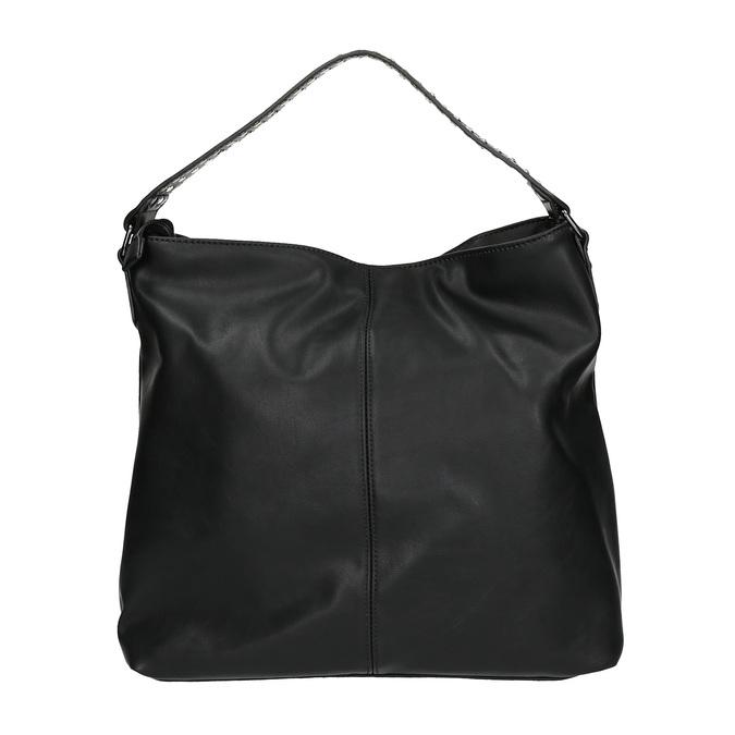 Dámská kabelka se zipy bata, černá, 961-6127 - 19