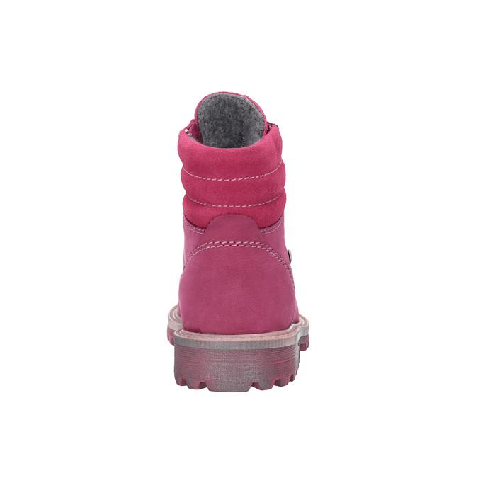 Kožená zimní obuv růžová richter, růžová, 296-5003 - 17