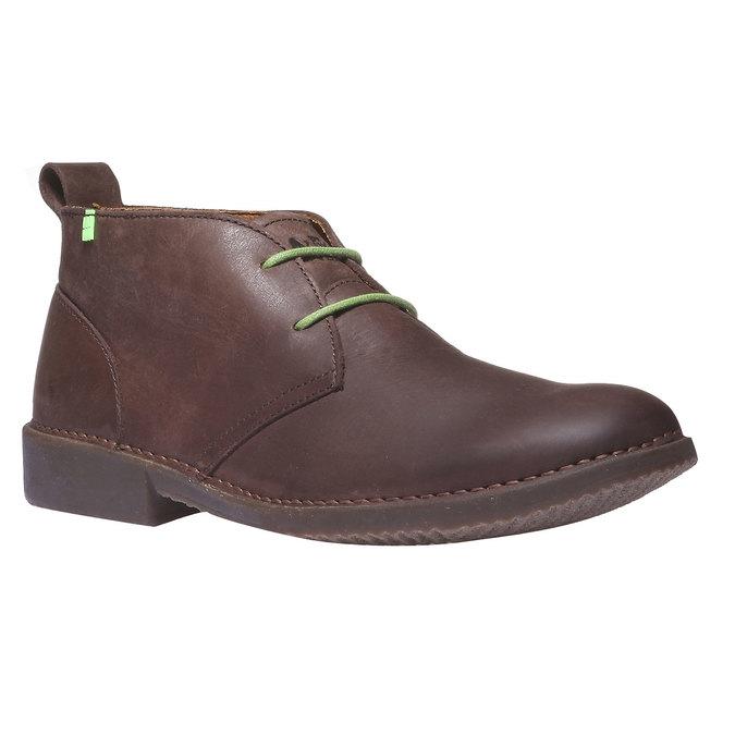 Leather Chukka Boots el-naturalista, hnědá, 826-4013 - 13