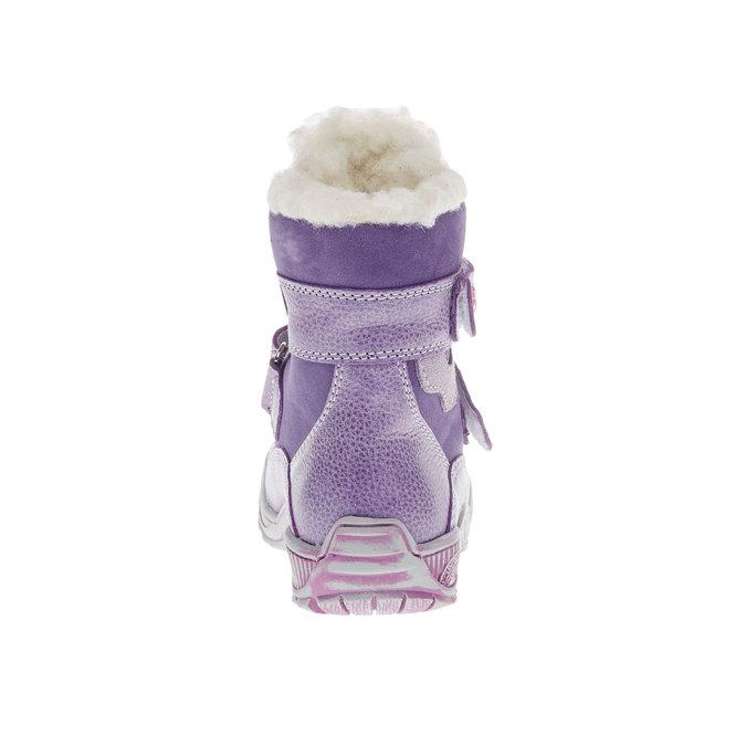 dětské zimní boty mini-b, fialová, 194-9100 - 17