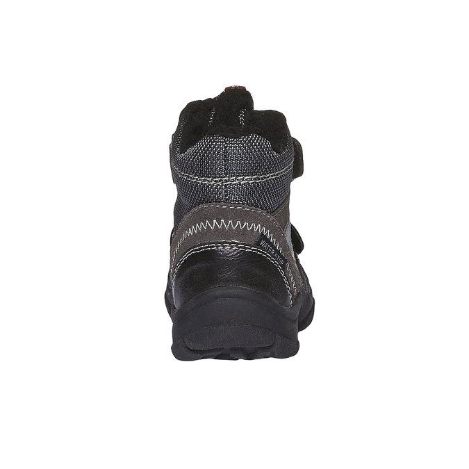 Kids shoes mini-b, šedá, 199-2102 - 17