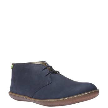 Leather Chukka Boots el-naturalista, modrá, 896-9002 - 13