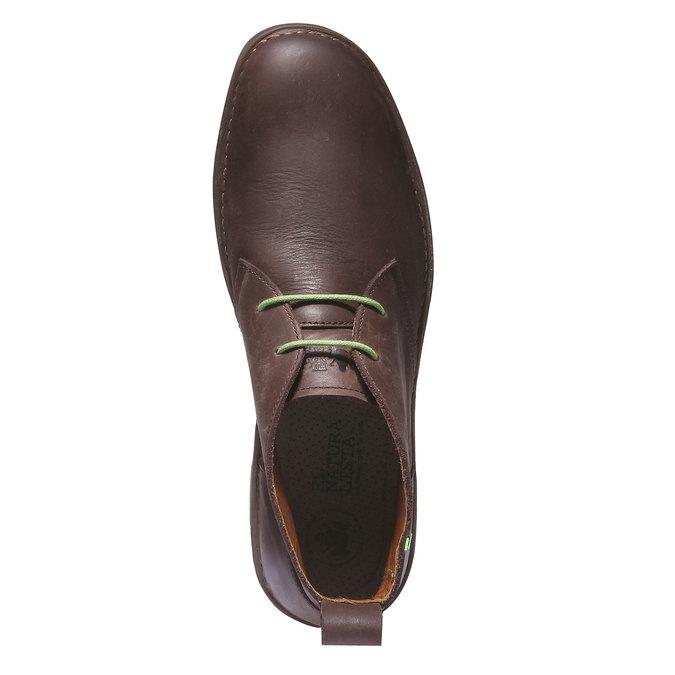 Leather Chukka Boots el-naturalista, hnědá, 826-4013 - 19