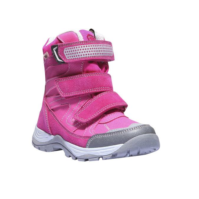 Kotníčková obuv s masivní podešví mini-b, růžová, 391-5100 - 13
