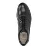 Ležérní kožené polobotky clarks, černá, 824-6002 - 19
