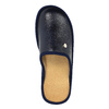 Pánská domácí obuv s uzavřenou špicí bata, modrá, 871-9304 - 19