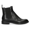 Černé kožené Chelsea Boots vagabond, černá, 514-6007 - 19